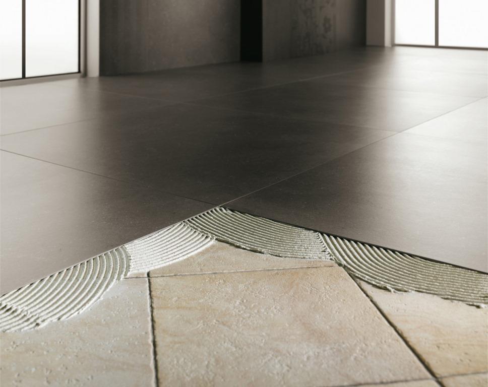 Pavimenti sottili effetto resina parquet pietra leef for Pavimento ceramica effetto parquet
