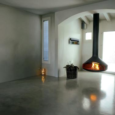 Pavimenti sottili effetto resina parquet pietra leef for Pavimento in resina 3d