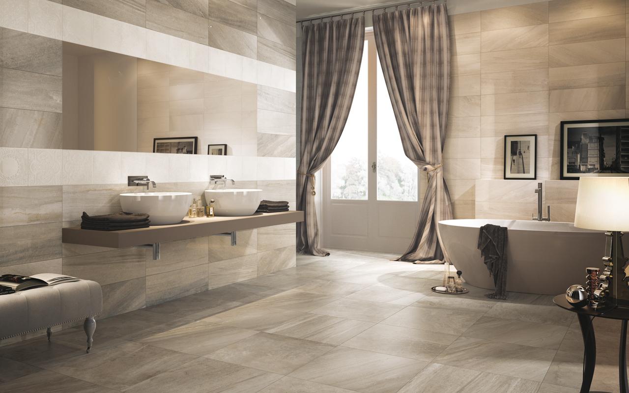 Pavimenti sottili effetto resina parquet pietra leef for Piastrelle sottili
