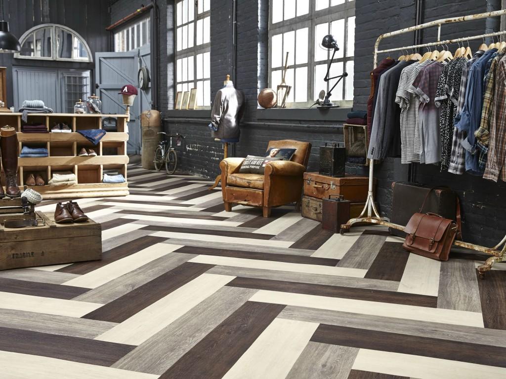 pavimenti in linoleum moderni